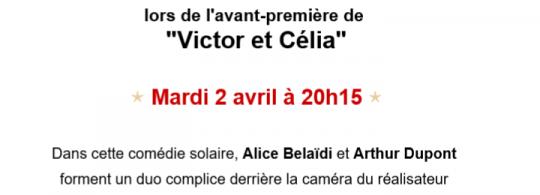 Avant première et visite d'équipe Victor et Célia Kinépolis Mulhouse 2 avril 2019
